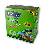Bacofoil Heavy Duty Zipper Bags 152 Bags