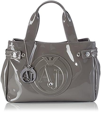 Armani Jeans Women's 0523555 Tote Bag Grey Grau (GRIGIO - GREY 2T)