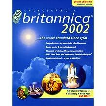 Encyclopaedia Britannica 2002 Deluxe Edition, 2 CD-ROMs Englische Version für Windows 95/98/2000/Me/XP/NT4.0. Über 56 Mio. Wörter, zahlr. Internet-Links sowie 'Merriam-Webster Dictionary'