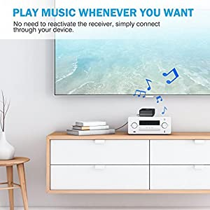 Mpow Bluetooth Receiver for Music Streaming Sound System