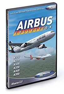 Airbus Collection (disque additionnel pour Flight Simulator)