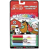 Melissa & Doug On The Go Magicolor Coloring Pad - Farm Animals, Multi Color