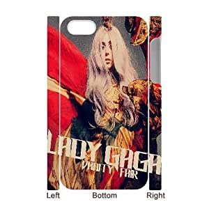DIY Lady Gaga 3D Case for iPhone 4, iPhone 4S, Custom Lady Gaga 3D Iphone 4S Phone Case, Lady Gaga 3D iPhone 4 Case Cover