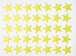 Creation Station Lot de 2100 étoiles autocollantes Doré 20 mm
