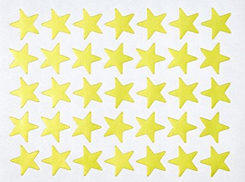 Creation Station Stern-Aufkleber, zum Abziehen, 20mm, goldfarben, 2.100Stück (Schule Mädchen Kostüme Accessoires)