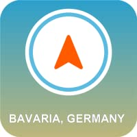 Bayern, Deutschland GPS