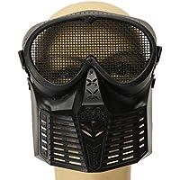 Plat Firm Jagd Biker Airsoft Paintball Tactical Vollgesichtsschutz Mesh Maske