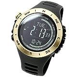 [LAD WEATHER] Schweizer Sensor Höhenmesser Barometer Digitaler Kompass Wettervorhersage Thermometer Schrittzahl Uhren Multifunktion