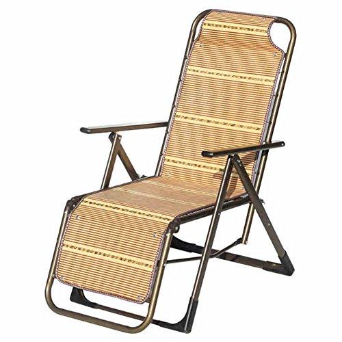 QIDI Chaise Longue De Chambre À Coucher Simple Bambou 48 * 106cm