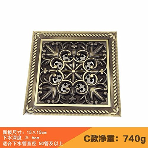 khskx-completa-cobre-europea-anti-olor-desage-drenaje-de-piso-de-15x15cm-de-panel-grande-balcn-al-ai