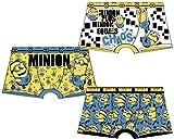 Disney. Jungen Boxershort Gr. 4/5 Jahre, Pack DE 3 Boxers Les Minions