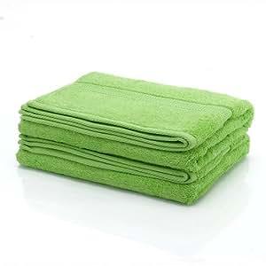 1 tlg. etérea Duschtuch, gekämmte Baumwolle, schwere Qualität, 70x140 cm, Apfelgrün