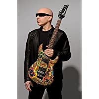 Joe Satriani Customized 24x37 inch Silk Print Poster Seda Cartel/WallPaper Great Gift