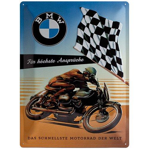 Preisvergleich Produktbild Nostalgic-Art 23202 BMW Ansprüche 30 x 40 x 0,2 cm