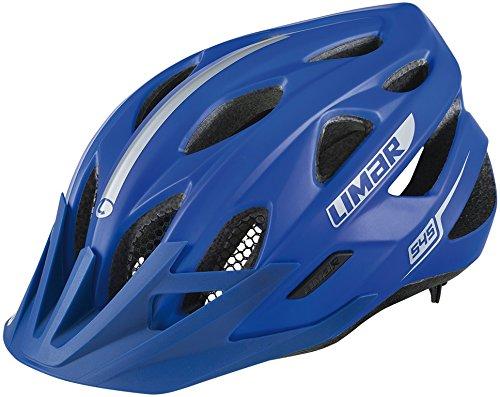 Limar-Casco da bicicletta per adulti 545, Unisex, Fahrradhelm 545, blu opaco, L