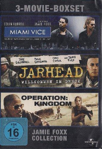 Jamie Foxx Collection - Miami Vice / Jarhead / Operation: Kingdom