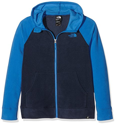 The North Face Boys' B Glacier Full Zip Hoodie Recycled Fleece Jacket Test