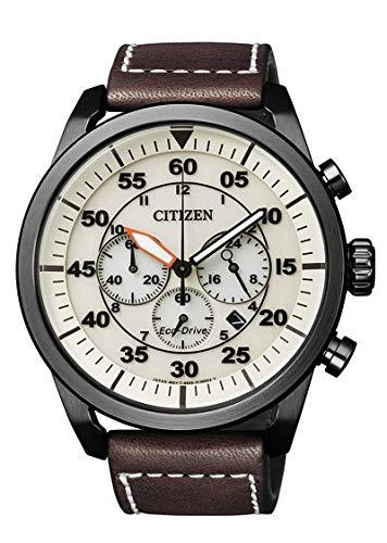 Orologio uomo da polso citizen eco-drive aviator ca4215-04w