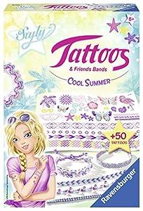 Ravensburger Cool Summer - Kits para Tatuajes temporales