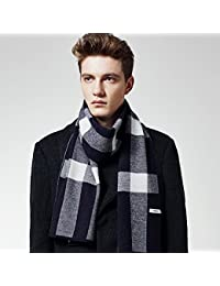 XIAOLIN-- Scarf Men 2017 Autumn And Winter Anti-static Long Section Soft And Comfortable Gift Box Packaging --Outdoor warm scarf ( Color : B )
