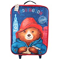 New Paddington Bear Trolley Bag Merchandise. Ideal for School, Holidays or Days Out!