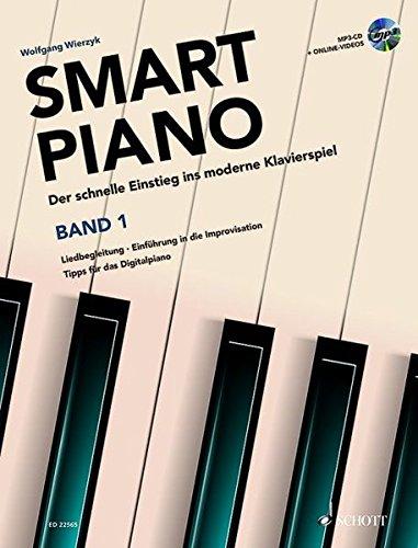 Smart-Piano-Der-schnelle-Einstieg-ins-moderne-Klavierspiel-Band-1-Klavier-Lehrbuch-mit-CD-Modern-Piano-Styles