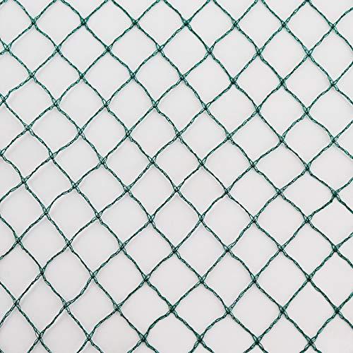 Vielseitiges Teichnetz 20m x 10m grün 17mm x 17mm Masche I Aquagart Laubschutznetz Teich Abdecknetz Vogelschutznetz Gartennetz Baumnetz Reiherschutz Beet-Netz Laubnetz Silonetz Schutznetz Teichabdeckung
