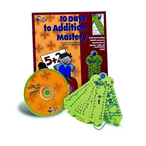 Addition Mastery Kit by Learning Wrap Ups TOY (English Manual)