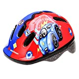 meteor® Fahrradhelm Kinder Jugend Radhelm Radsport InlineSkate Scooter Entwickelt für die Sicherheit der jüngsten Benutzer Der Helm hat eine stufenlos einstellbare Regulierung des Kopfkreislaufs
