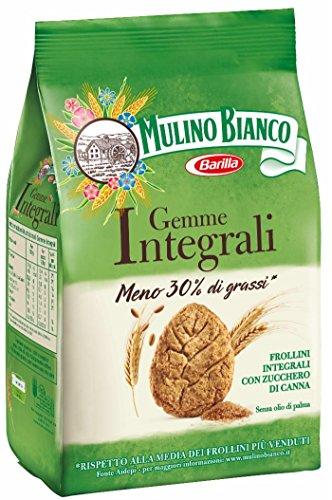 Mulino Bianco - Biscotti Gemme Integrali - 4 confezioni da 300 g [1200 g]