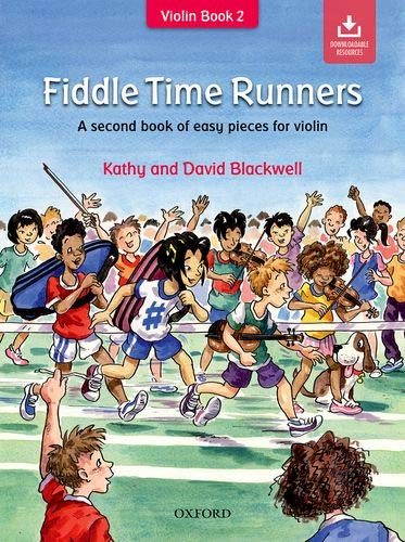 Preisvergleich Produktbild Fiddle Time Runners + CD: A second book of easy pieces for violin