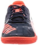 Puma evoSPEED Sala 3.4, Unisex-Erwachsene Futsalschuhe, Blau (total eclipse-lava blast 01), 37 EU (4 Erwachsene UK) - 4
