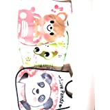 Baby Bib FOR KIDS- Cute Panda,frog Pattern Water-Resistant Material Baby Bibs Feeding Care Wipe-off Bib Feeding Aprons For Unisex Baby, Toddlers ,Infants ||baby Products Nursing Feeding Bibs [Set Of 3] Water Proof Baby Apron , Bibs By STAWNCH