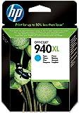 HP 940 Cartouche d'Encre Bleu Authentique