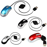 USB Wired Optical Mouse - TOOGOO(R)Portable Extensible Mini USB Wired Optical Mouse Mice For PC Laptop Computer