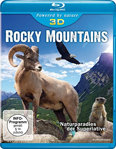 Rocky Mountains  (inkl. 2D-Version) [3D Blu-ray]