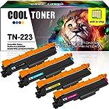 Cool Toner 4 Pack Compatible TN243 TN-243 TN247 Cartouches de Toner pour Brother HL-L3210CW HL-L3230CDW HL-L3270CDW MFC-L3710CDW MFC-L3750CDW L3770CDW MFC-L3730CDW DCP-L3510CDW DCP-L3550CDW L3517CDW