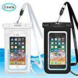 Universal Waterproof Phone Case, Large Waterproof Phone Pouch Dry Bag for apple iPhone