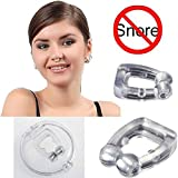 #2: Pink Pari Silica Gel Anti-Snore Snoring Stopper Snore-Free Nose Clip Sleeping-Aid Device with Shell Case
