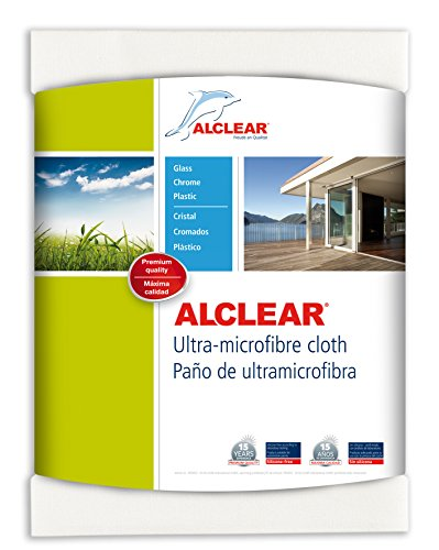 alclear 950002 ultra-microfiber window cloth and clear water (white) Alclear 950002 Ultra-Microfiber Window Cloth and Clear Water (White) 51KGgzNYhEL