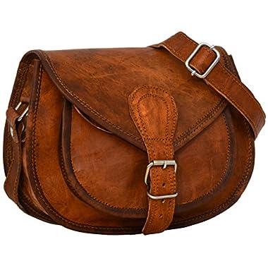 "Gusti Leder nature""Romy"" Genuine Leather Handbag Cross Body Shoulder Bag Everyday Satchel City Party Weekend Festival Bag"