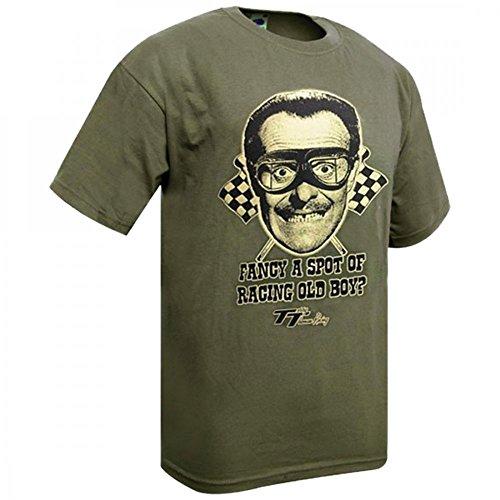 Terry Thomas T-shirt Fancy a spot of racing old boy Verde