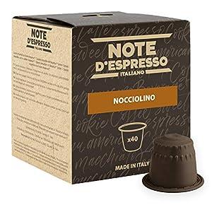 Note D'Espresso Nocciolino Preparato Solubile per Bevanda al Gusto di Cappuccino alla Nocciola - 280 g (40 x 7 g…
