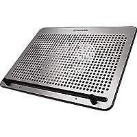 وسادة تبريد للكمبيوتر المحمول بحجم 15 مم من ThermalTake Always Simple من الألومنيوم بمقاس 10 بوصة إلى 17 بوصة طراز CLN0029 CL-N011-PL20BL-A