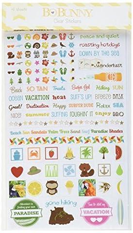BoBunny Essentials Stickers-Summer Fun, Other,