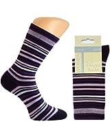 10 Paar Damen Socken ohne Gummi, verschiedene Farben gemischt oder schwarz