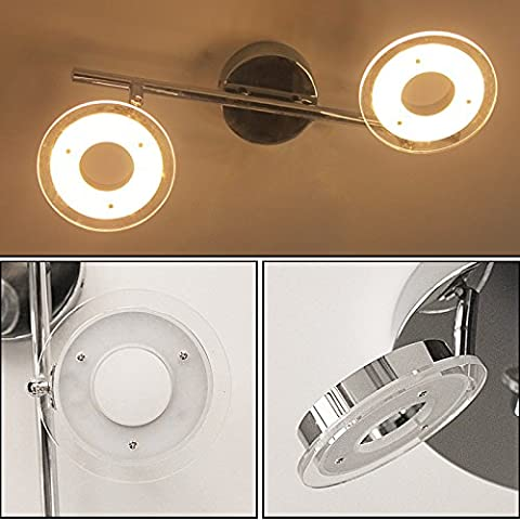 Hengda® 12W LED Deckenlampe Wandleuchte 2700-3500K Wohnzimmer Deckenleuchte 230V Spots Beleuchtung Garderobe Schlafzimmer Küche Badezimmer Flur (Küche Indirekte Beleuchtung)