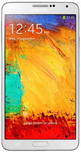 Samsung Galaxy Note 3 N9000 Mobile Phone (White)