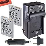 #5: BM Premium Pack Of 2 EN-EL5 Batteries & Battery Charger Kit for Nikon Coolpix P80 P90 P100 P500 P510 P520 P530 Digital Camera + More!!