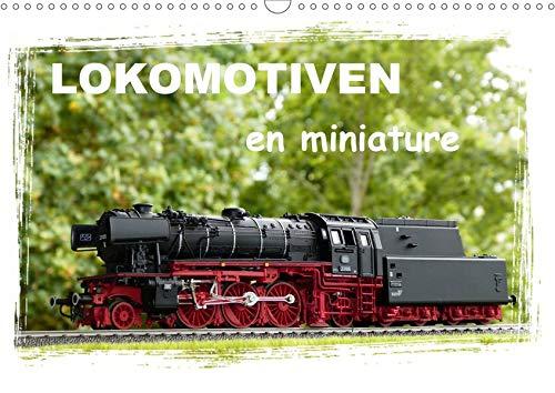 Lokomotiven en miniature (Wandkalender 2020 DIN A3 quer)